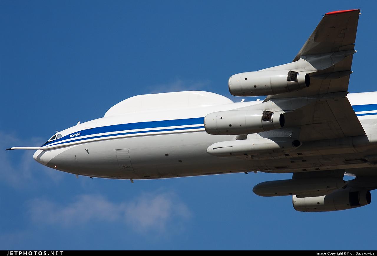 RA-86147 - Ilyushin IL-86VKP - Russia - Air Force