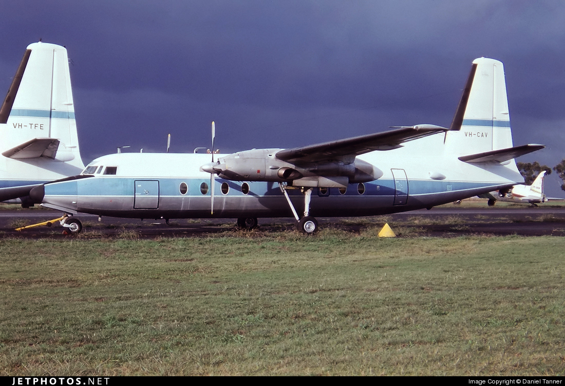 VH-CAV - Fokker F27-100 Friendship - Australia - Department of Aviation