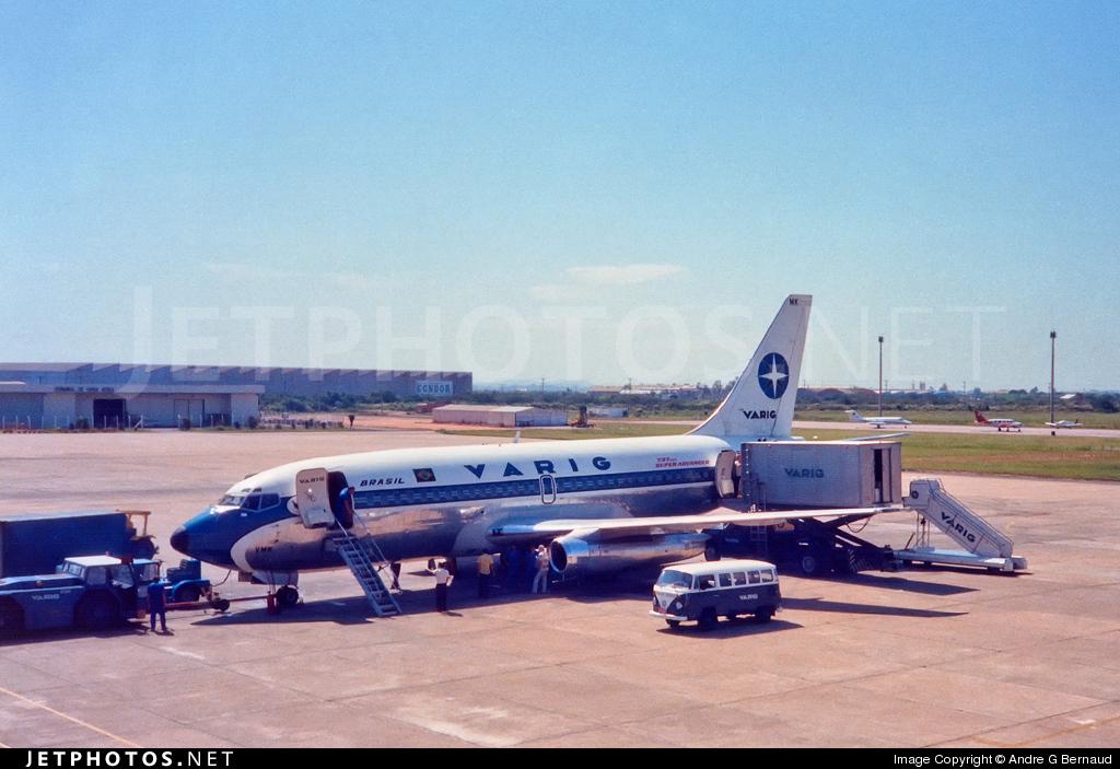PP-VMK - Boeing 737-241(Adv) - Varig