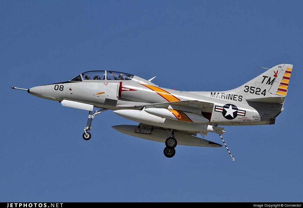 N524CF - McDonnell Douglas TA-4J Skyhawk - Private