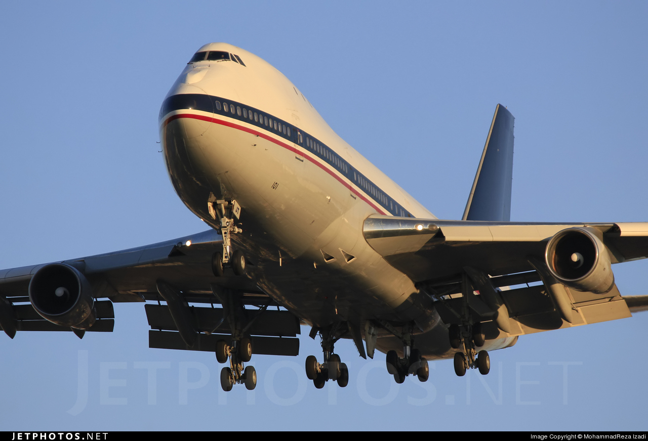 EP-AJT - Boeing 747-131(SF) - Meraj Air
