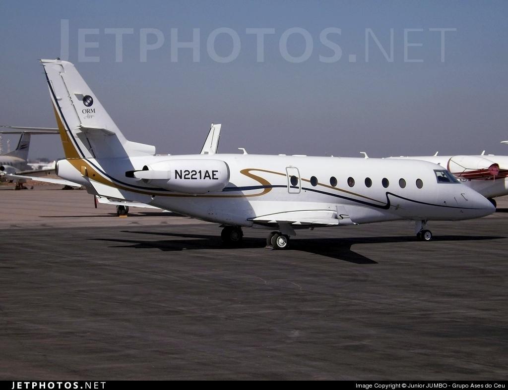 N221AE - Gulfstream G200 - Private