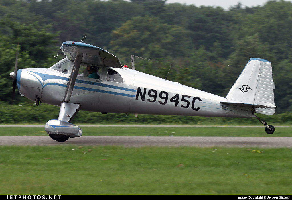 N9945C - Luscombe 8F Silvaire - Private