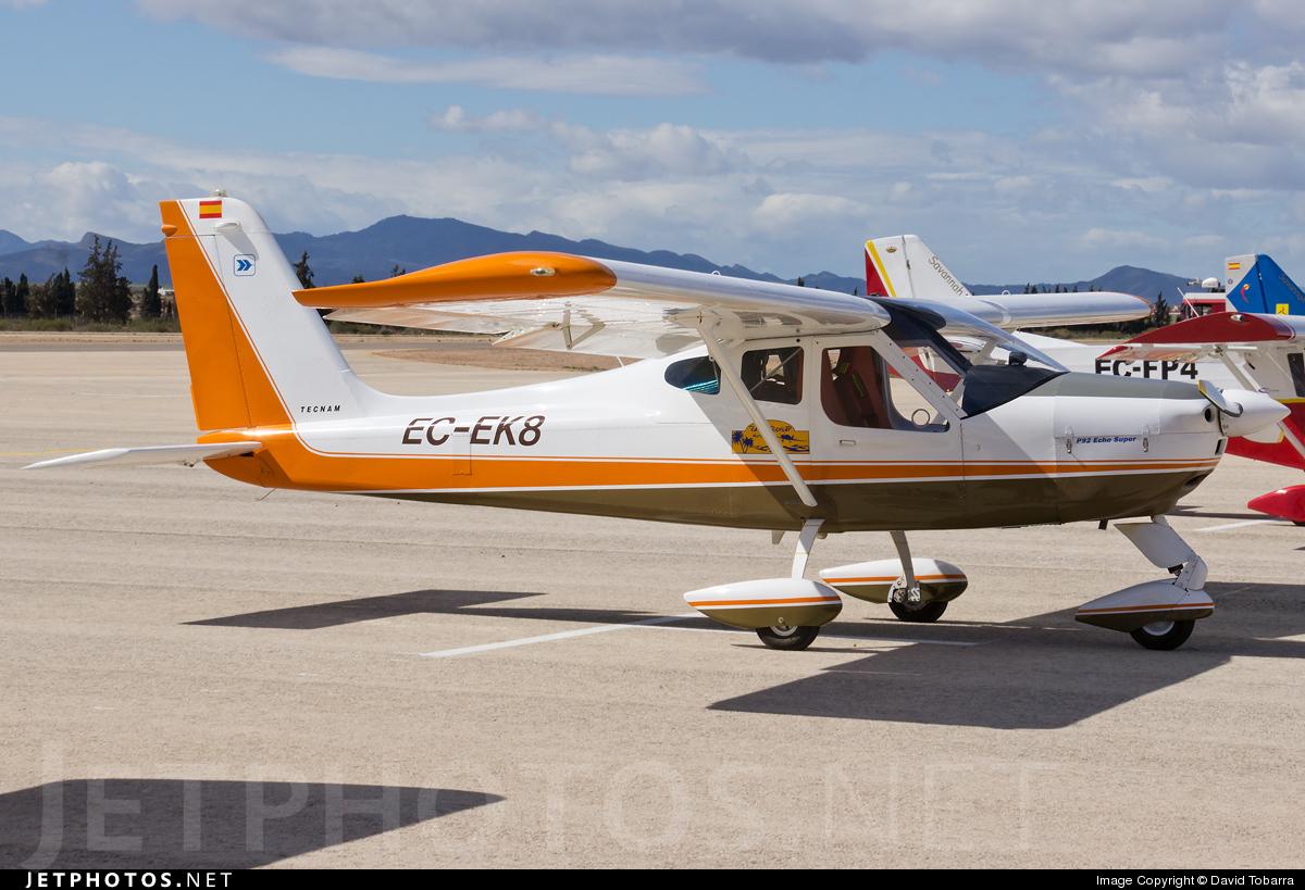 EC-EK8 - Tecnam P92 Echo Super - Private