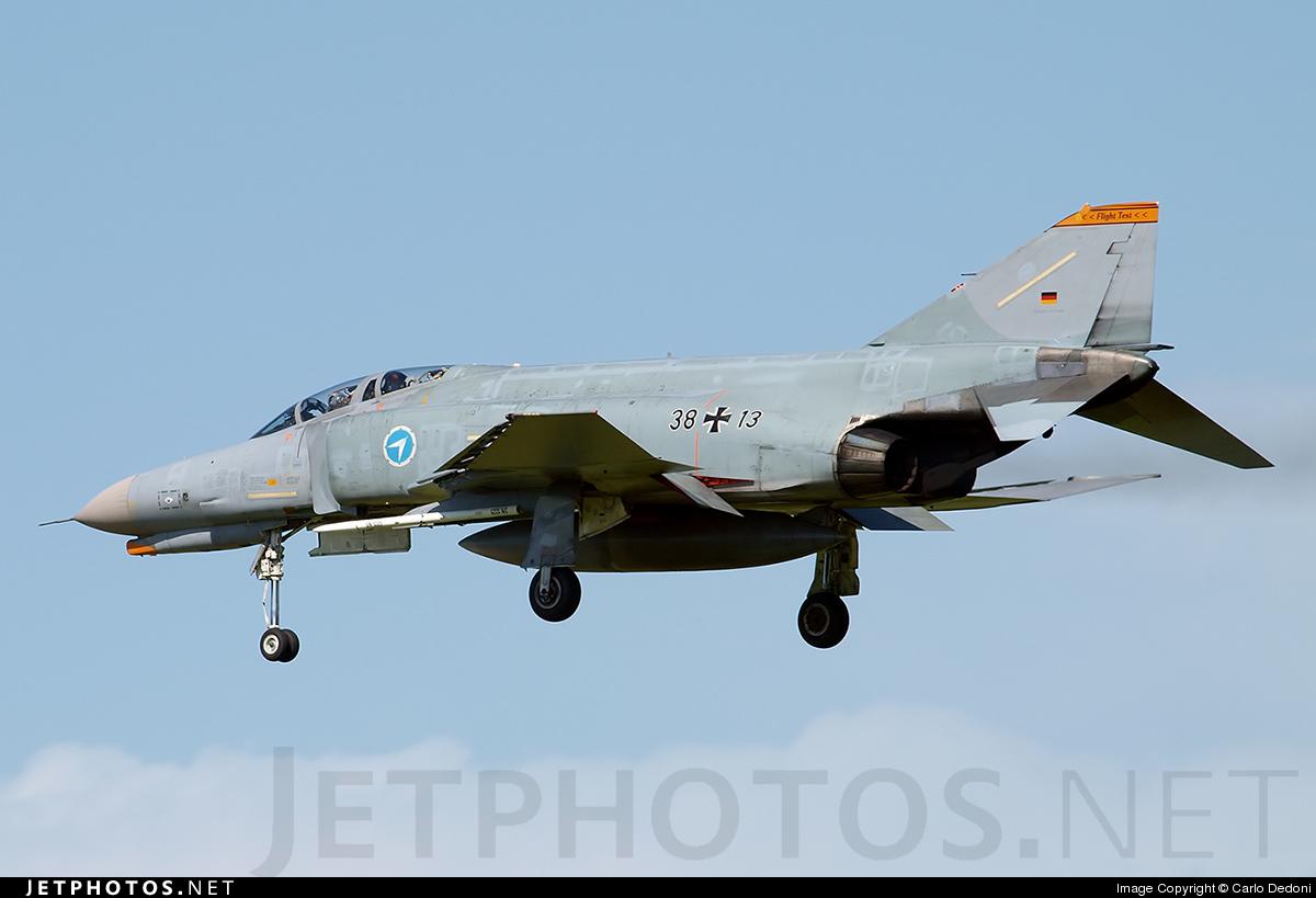 38-13 - McDonnell Douglas F-4F Phantom II - Germany - Air Force