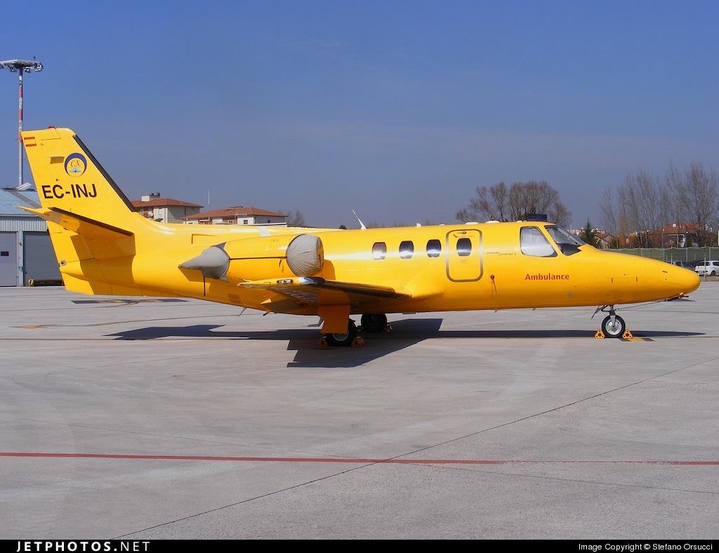 EC-INJ - Cessna 501 Citation SP - RACC Ambulance