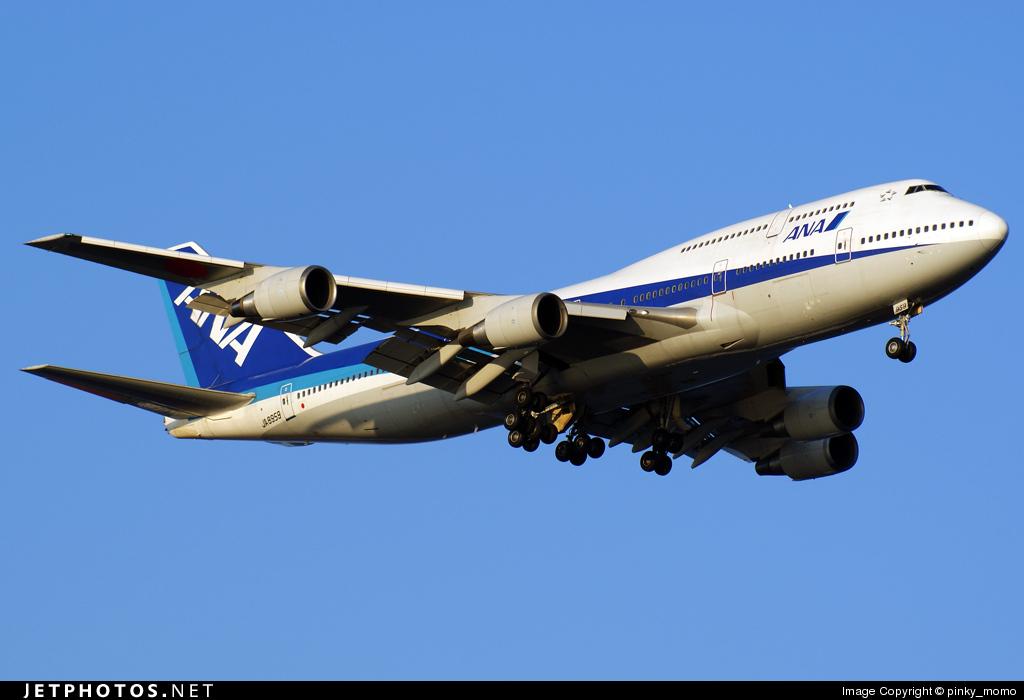 JA8959 - Boeing 747-481D - All Nippon Airways (ANA)