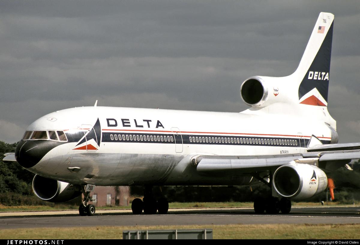 N768DL - Lockheed L-1011-500 Tristar - Delta Air Lines