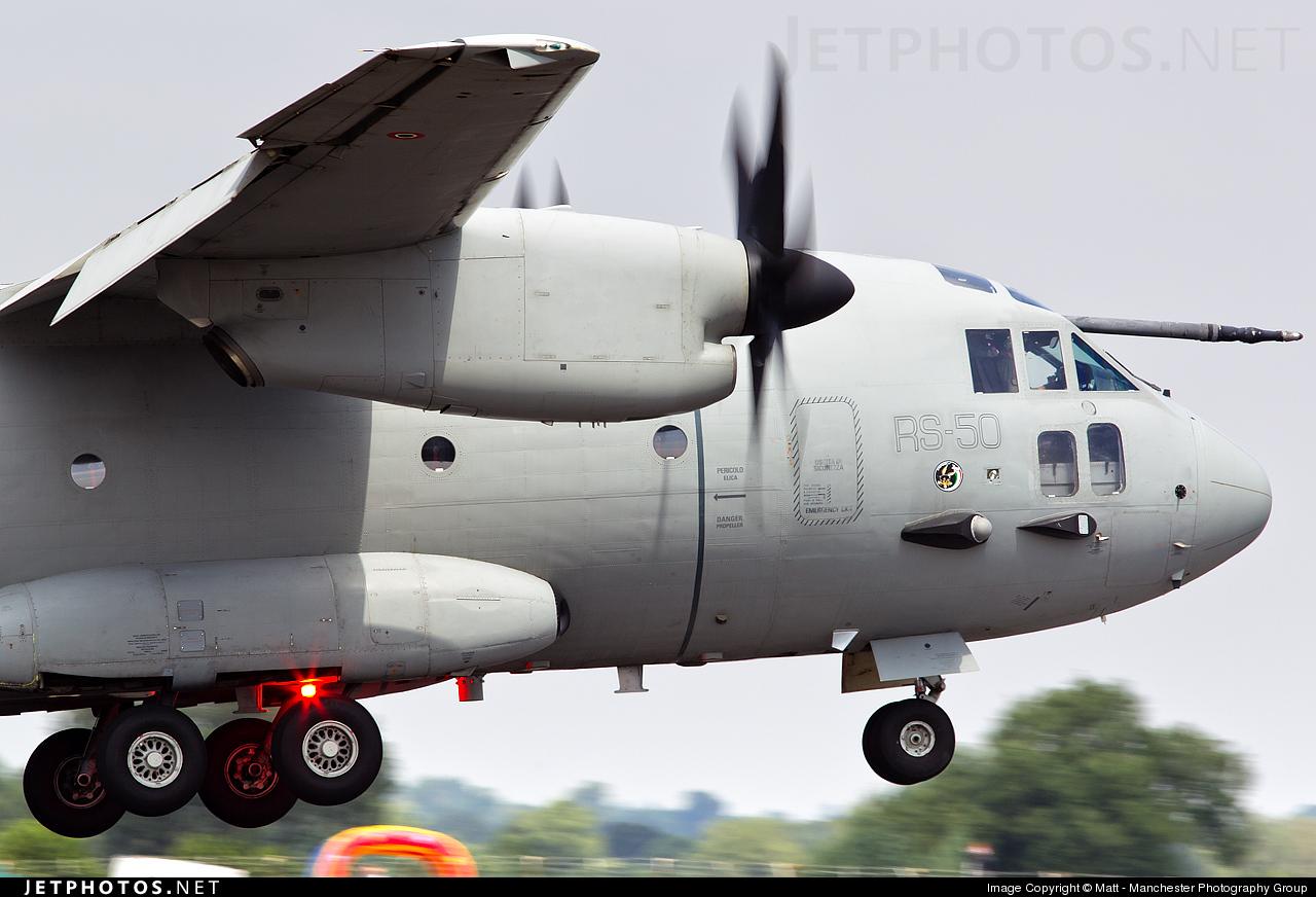 MMCSX62127 - Alenia C-27J Spartan - Alenia Aeronautica
