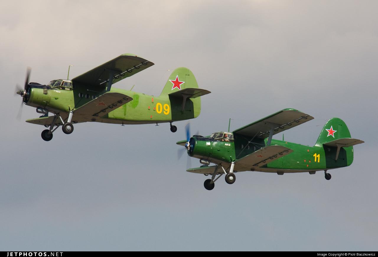 09 - Antonov An-2 - Russia - Air Force