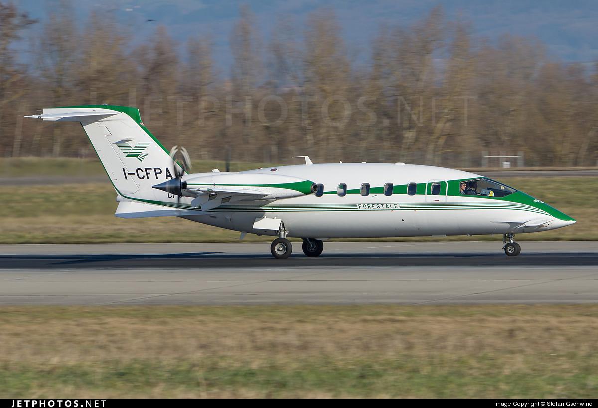 I-CFPA - Piaggio P-180 Avanti - Italy - Forestale