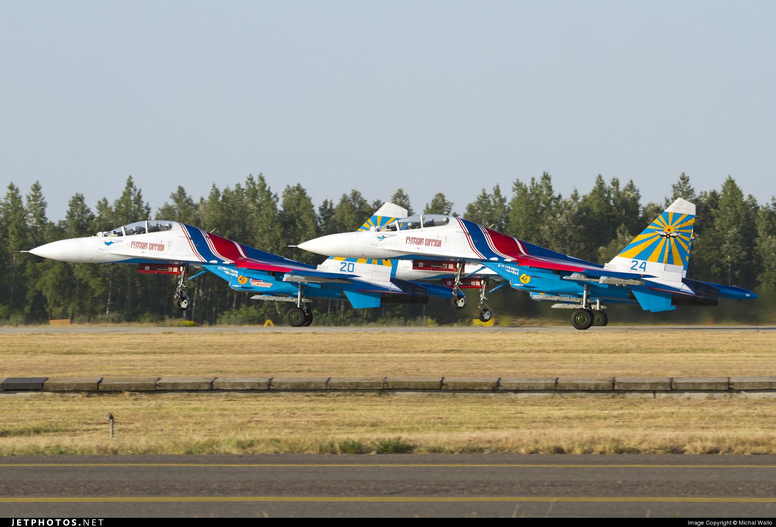 24 - Sukhoi Su-27UB Flanker C - Russia - Air Force