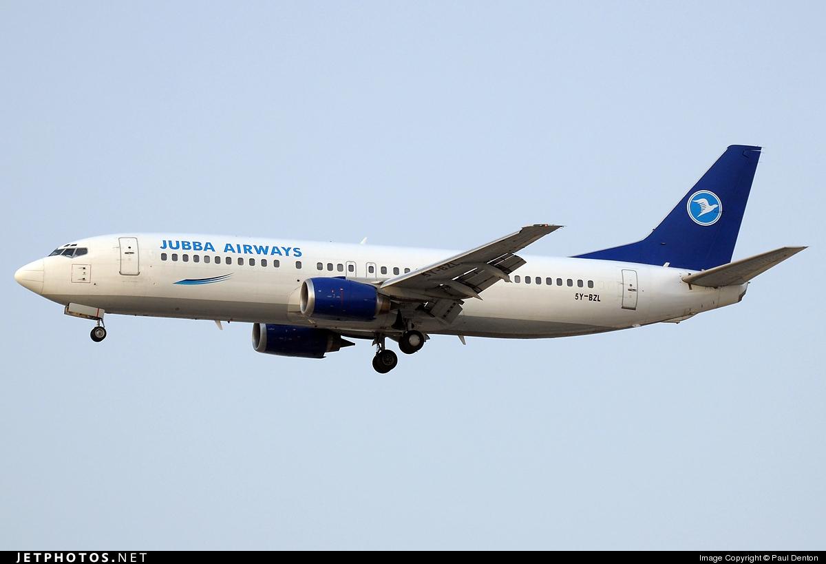 5Y-BZL - Boeing 737-4B7 - Jubba Airways