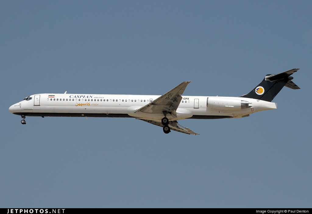 EP-CPX - McDonnell Douglas MD-83 - Caspian Airlines