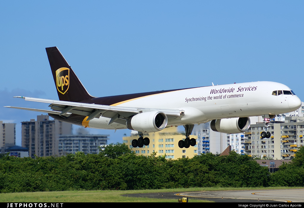 N466UP - Boeing 757-24A(PF) - United Parcel Service (UPS)