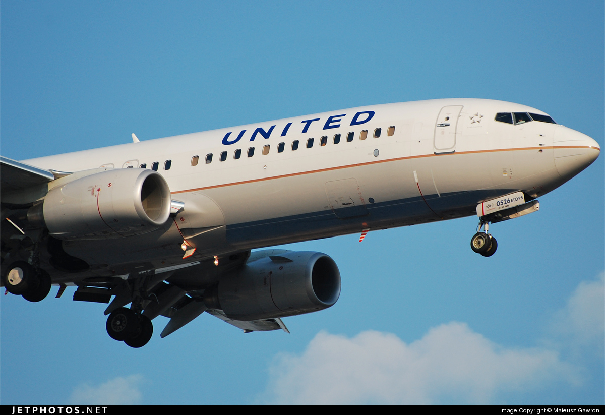 N76526 - Boeing 737-824 - United Airlines (Continental Airlines)
