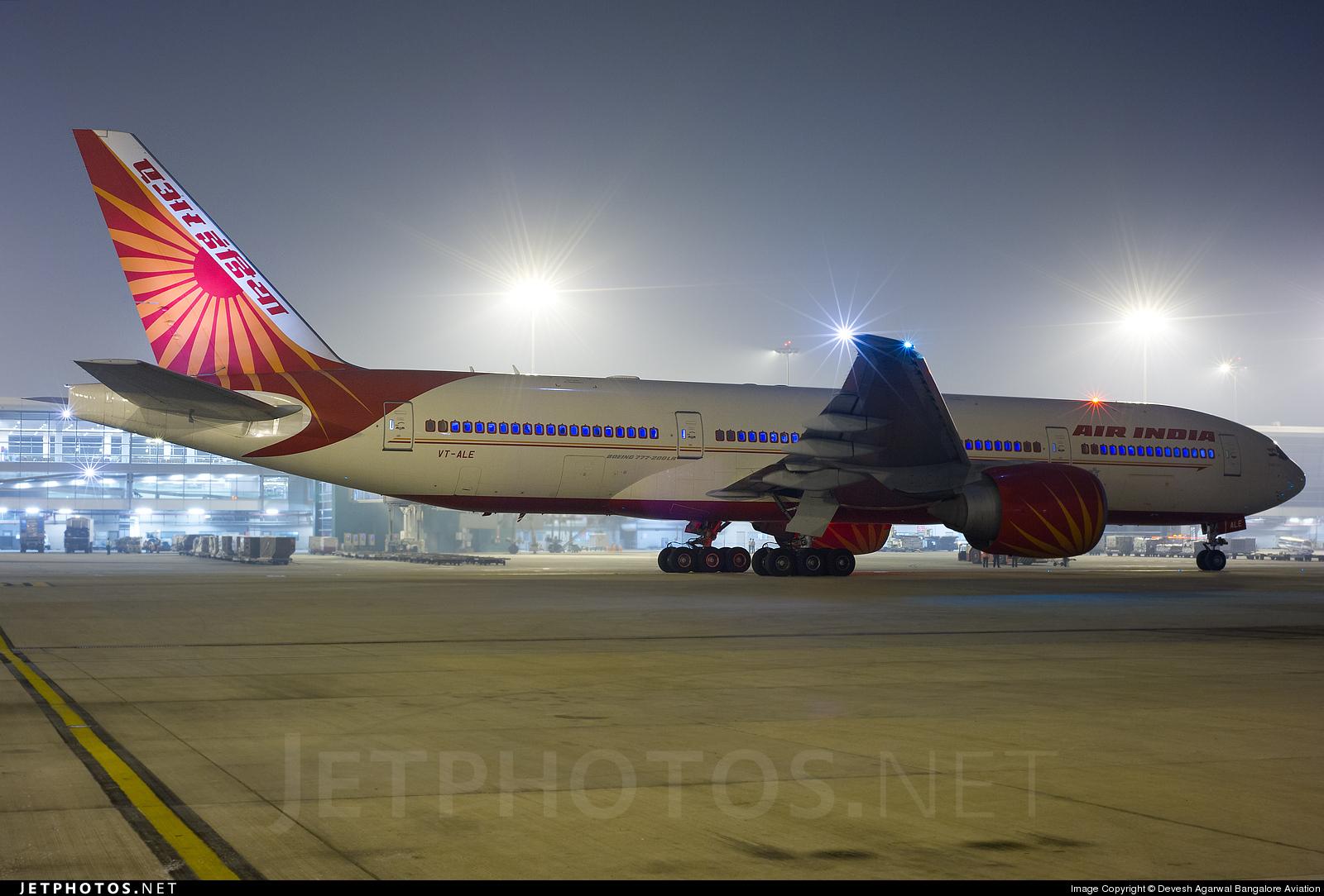 VT-ALE - Boeing 777-237LR - Air India