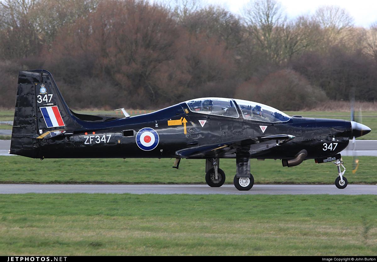 ZF347 - Short Tucano T.1 - United Kingdom - Royal Air Force (RAF)