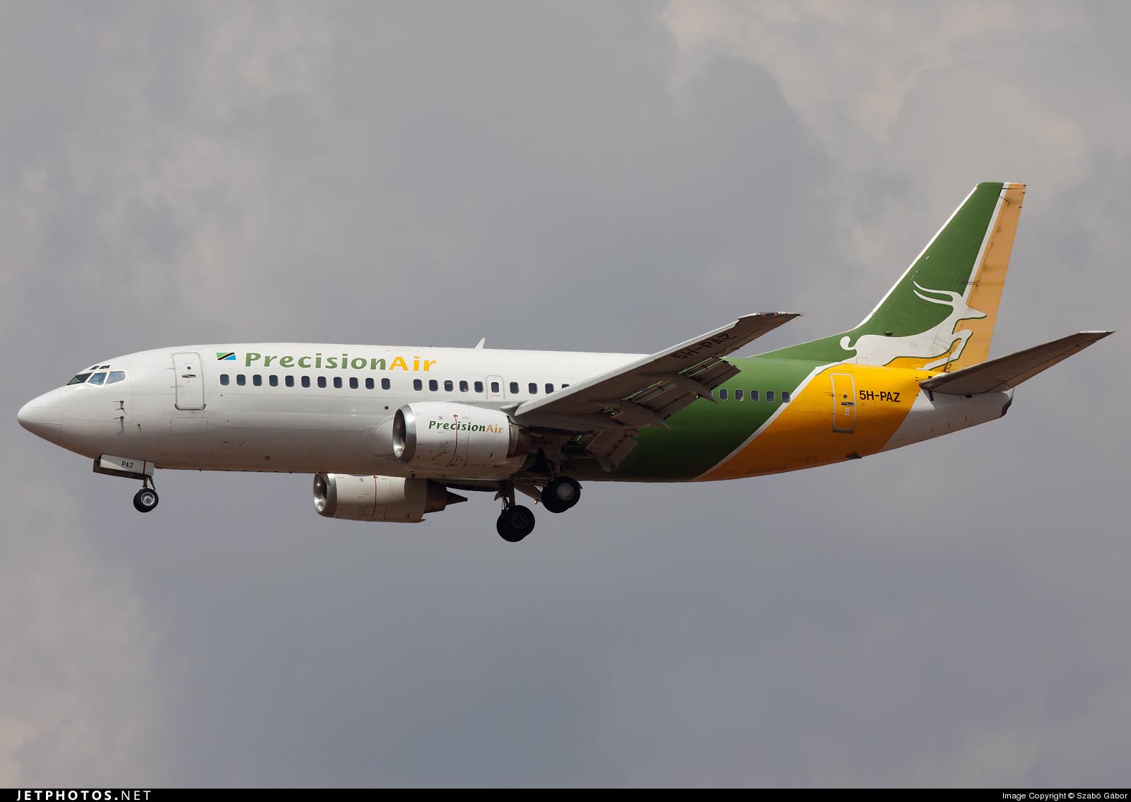 5H-PAZ - Boeing 737-3Y0 - Precision Air