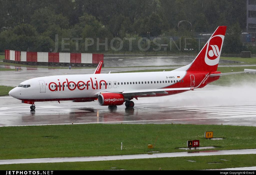 D-ABKS - Boeing 737-86J - Air Berlin
