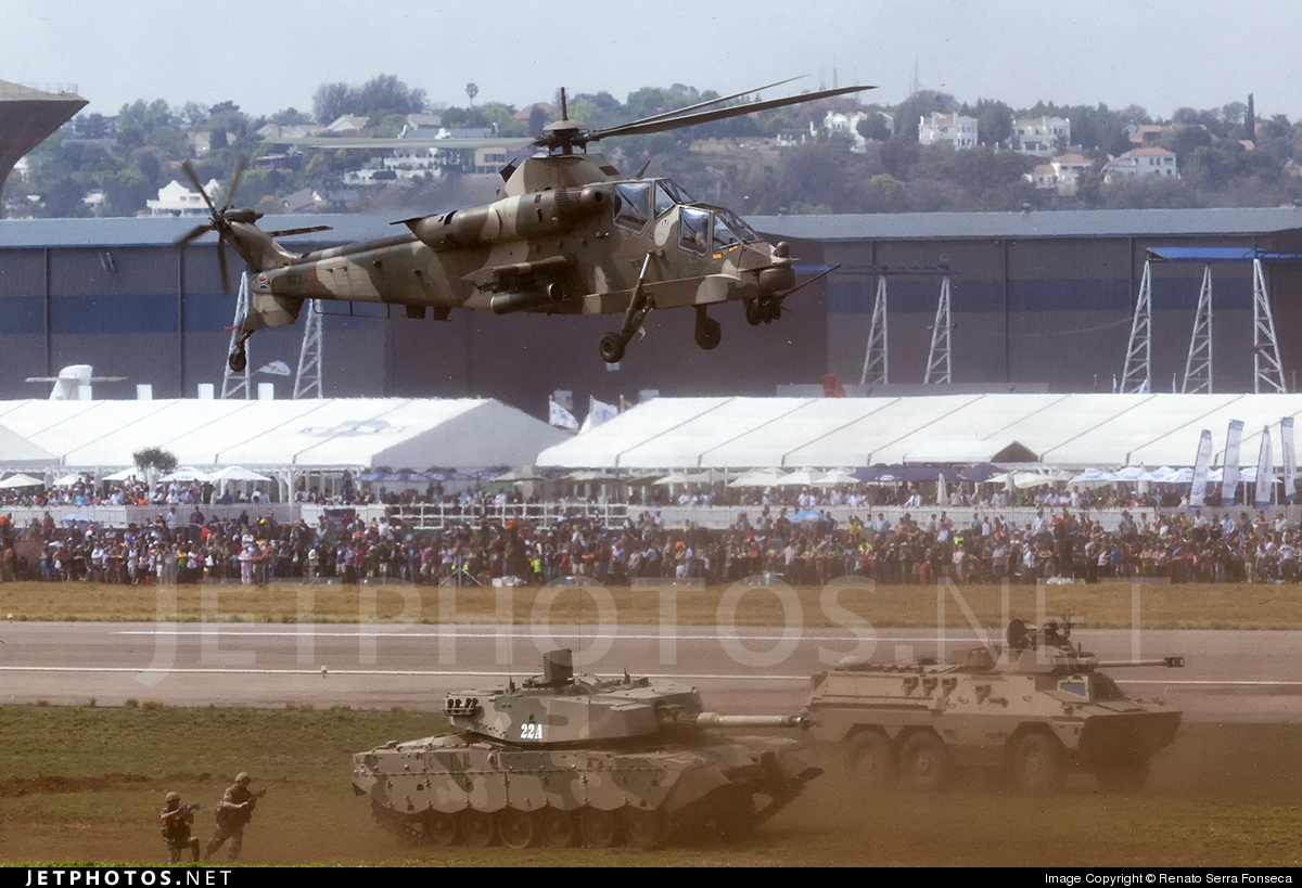 672 - Denel CSH-2 Rooivalk - South Africa - Air Force