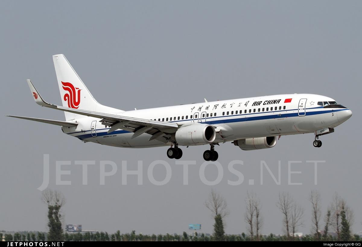 B-5477 - Boeing 737-89L - Air China