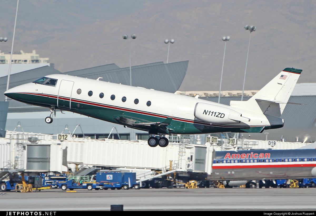 N111ZD - Gulfstream G200 - Private