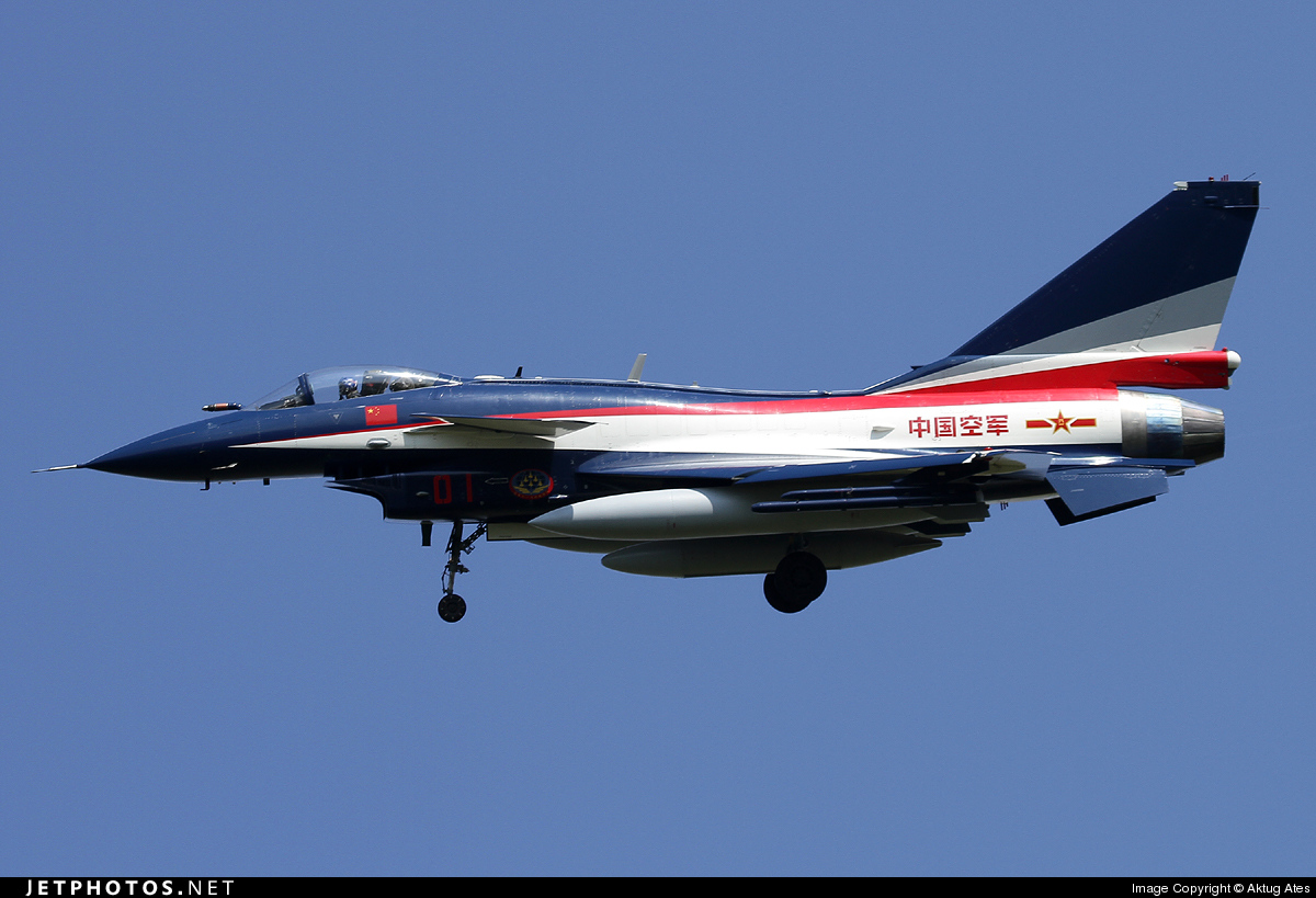 01 - Chengdu J10A - China - Air Force