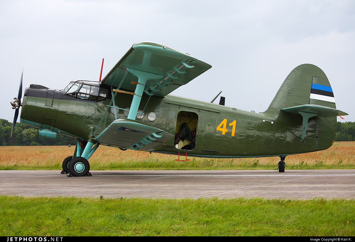 41 - Antonov An-2 - Estonia - Air Force