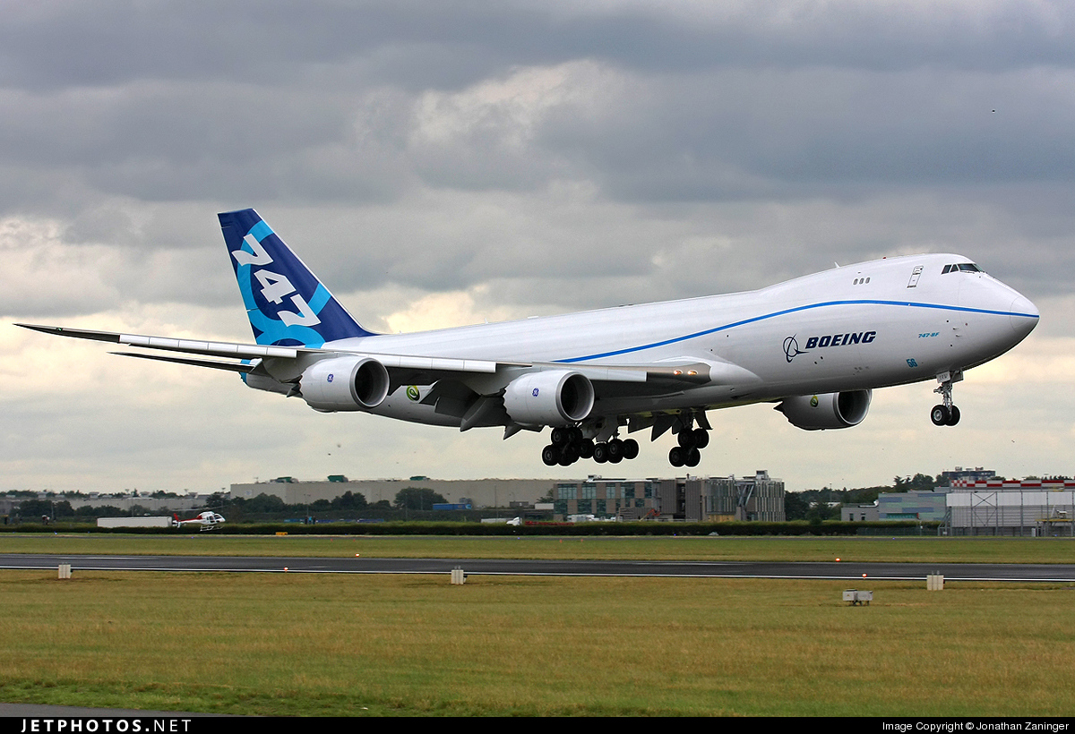 N50217 - Boeing 747-867F - Boeing Company