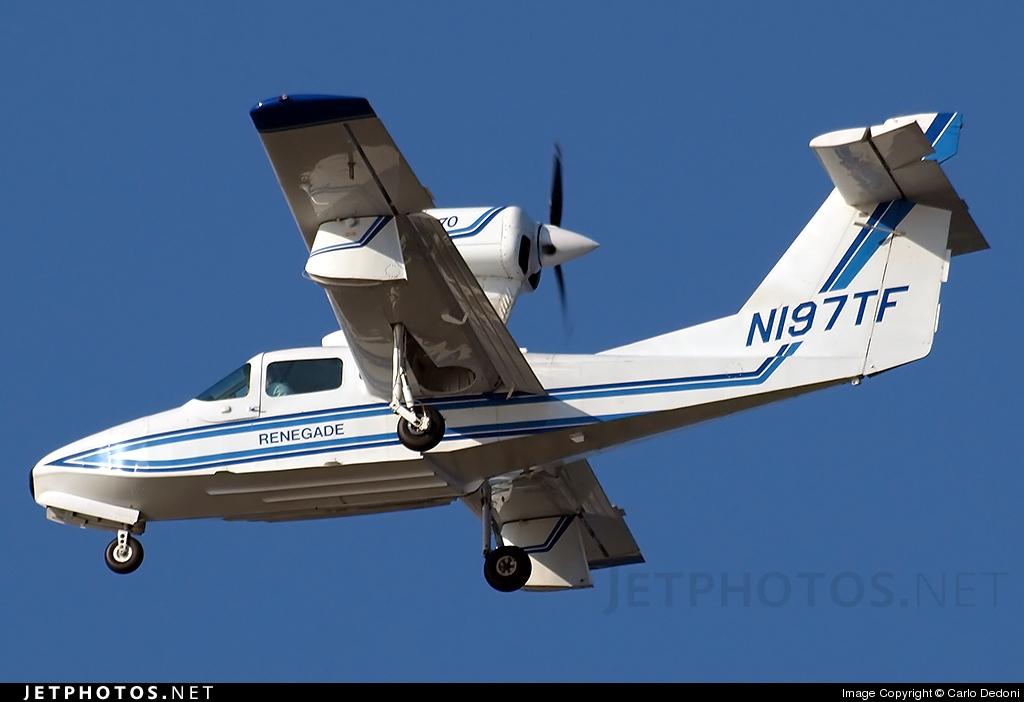 N197TF - Lake LA-270 Renegade - Private