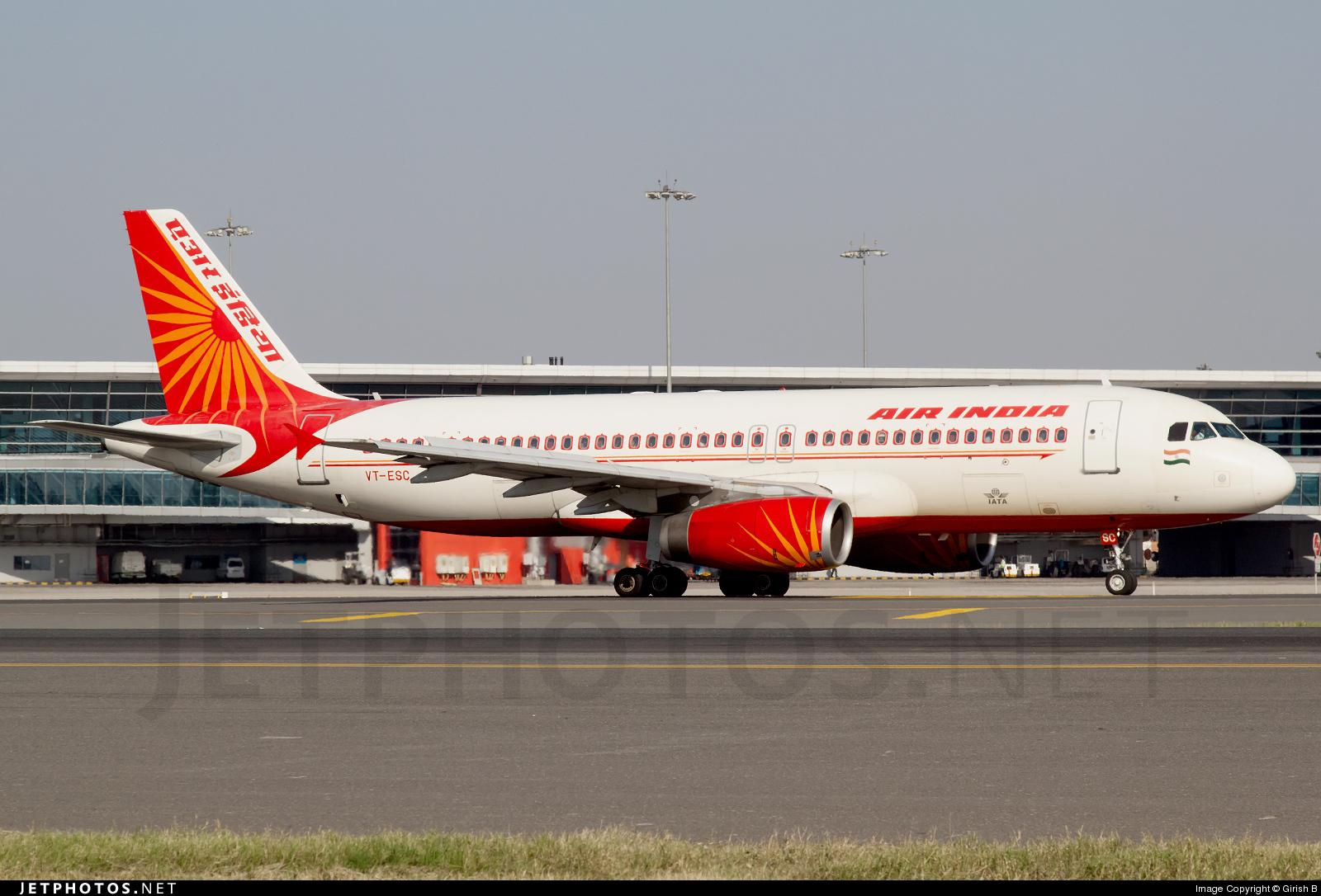 VT-ESC - Airbus A320-231 - Air India