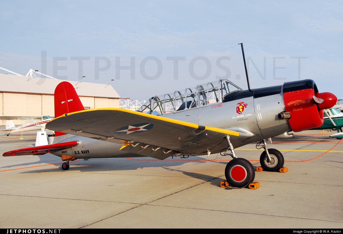 N56913 - Vultee BT-13A Valiant - Private