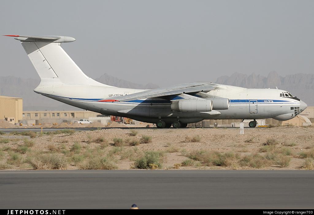 UP-I7628 - Ilyushin IL-76T - Eastern Express Air Company