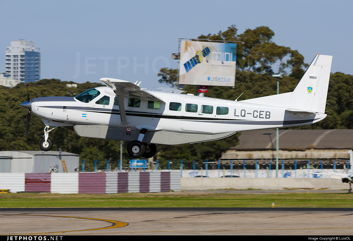 LQ-CEB - Cessna 208B Grand Caravan - Argentina - Government of La Pampa