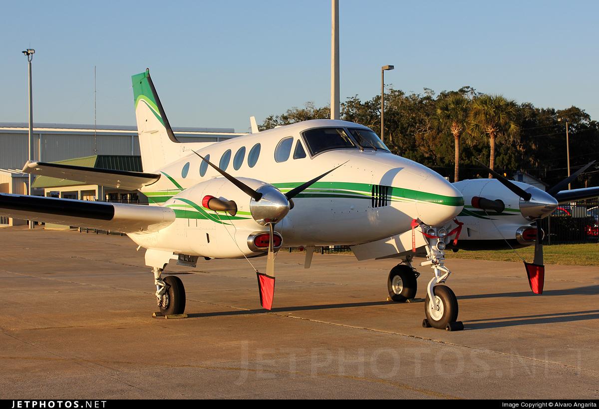 N44GP - Beechcraft C90A King Air - Private