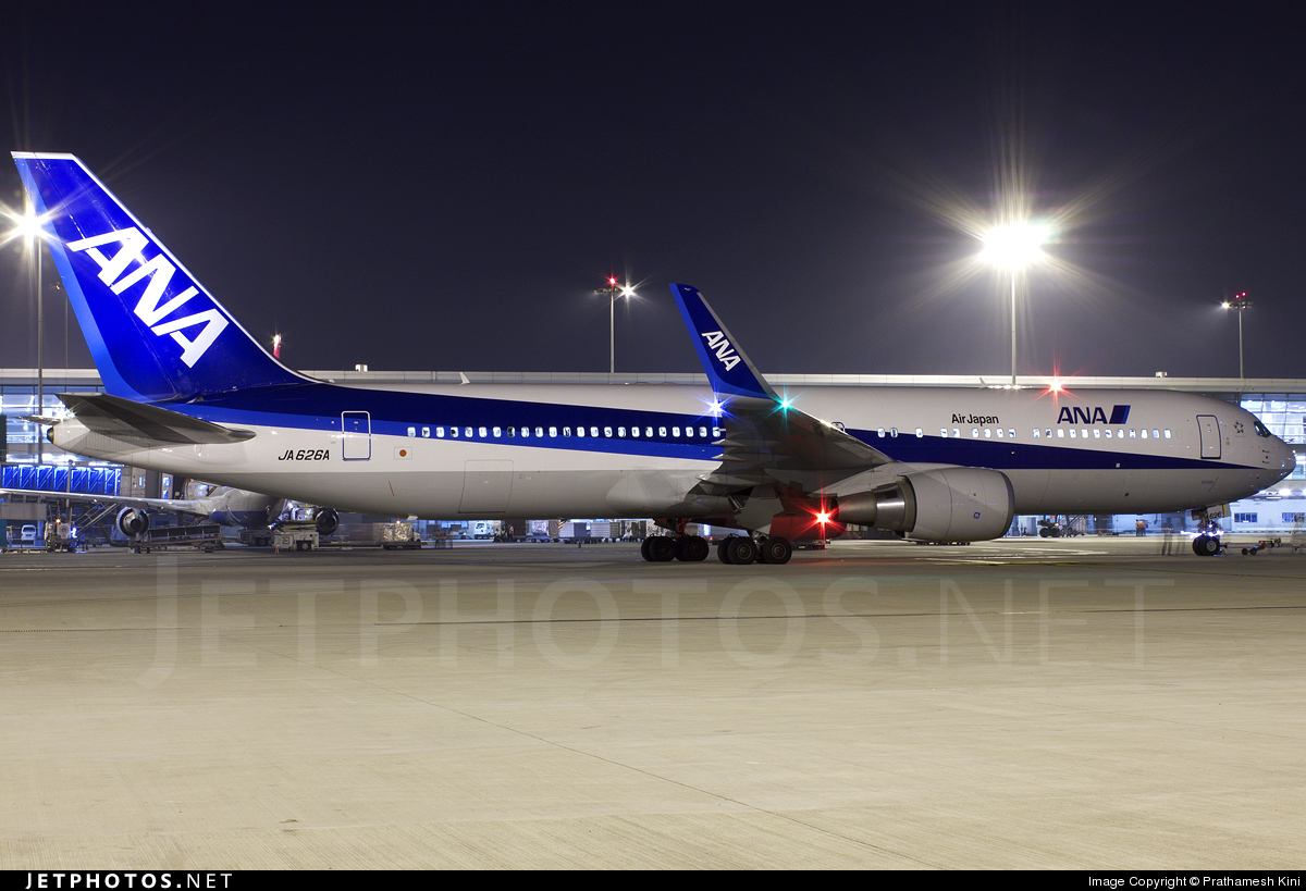 JA626A - Boeing 767-381(ER) - All Nippon Airways (Air Japan)