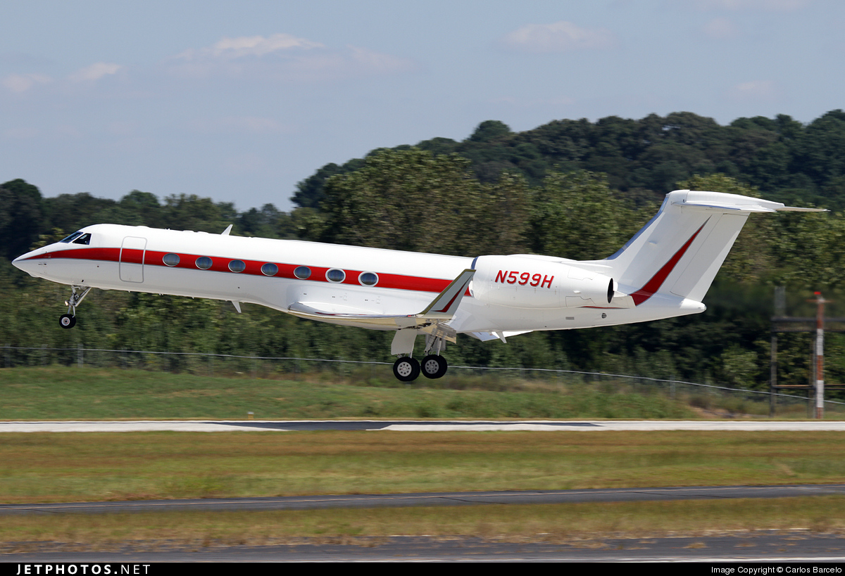 N599H | Gulfstream G550 | Honeywell Aerospace | Carlos Barcelo