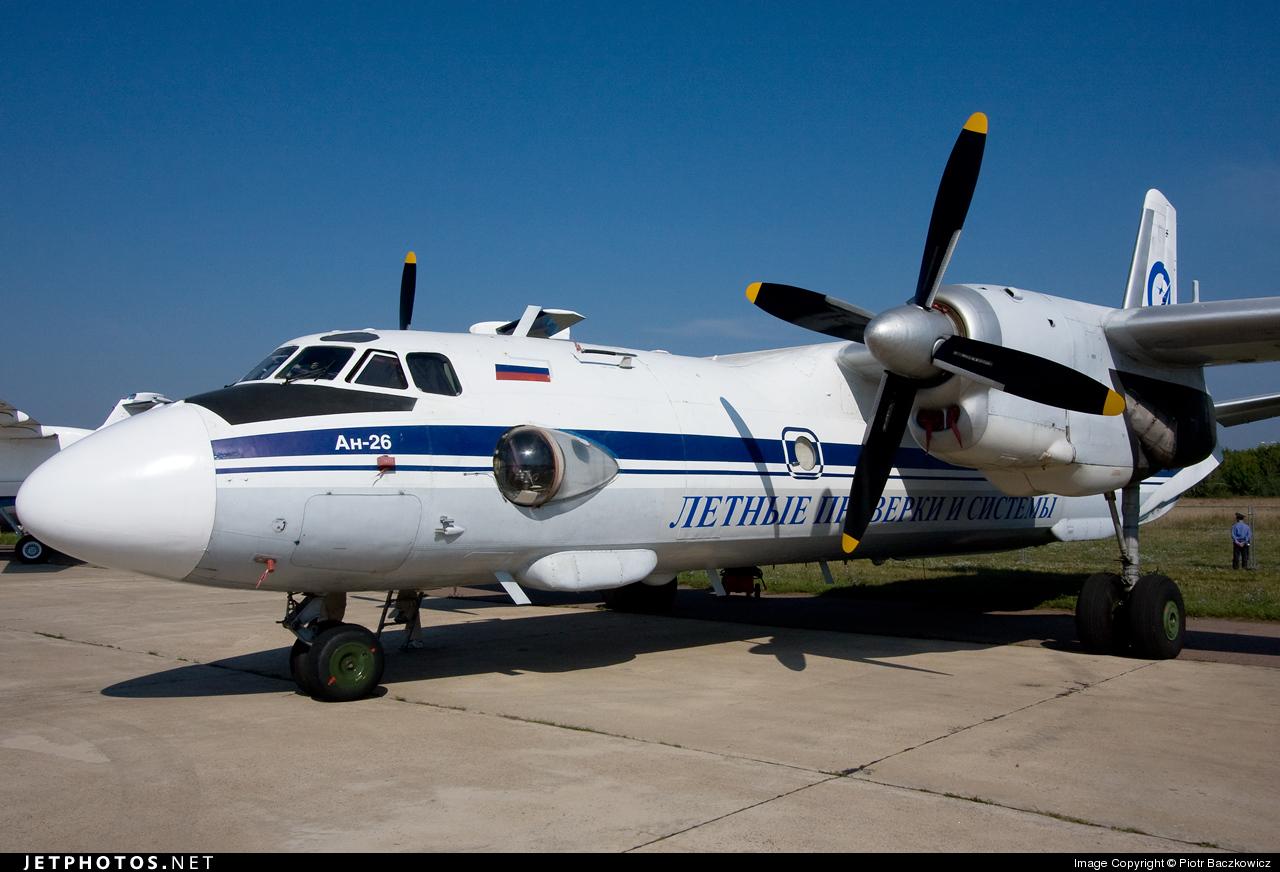 RA-26625 - Antonov An-26 - Letnye Proverki I Sistemy