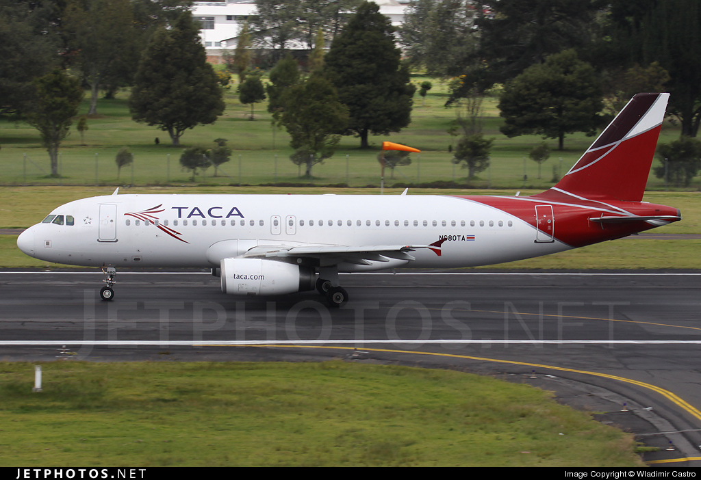 N680TA - Airbus A320-233 - TACA International Airlines