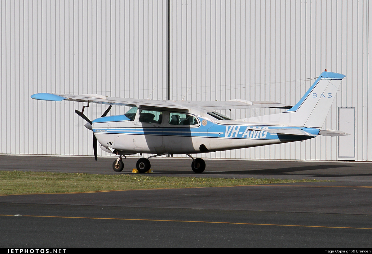 VH-AMG - Cessna 210N Centurion II - Broome Air Services