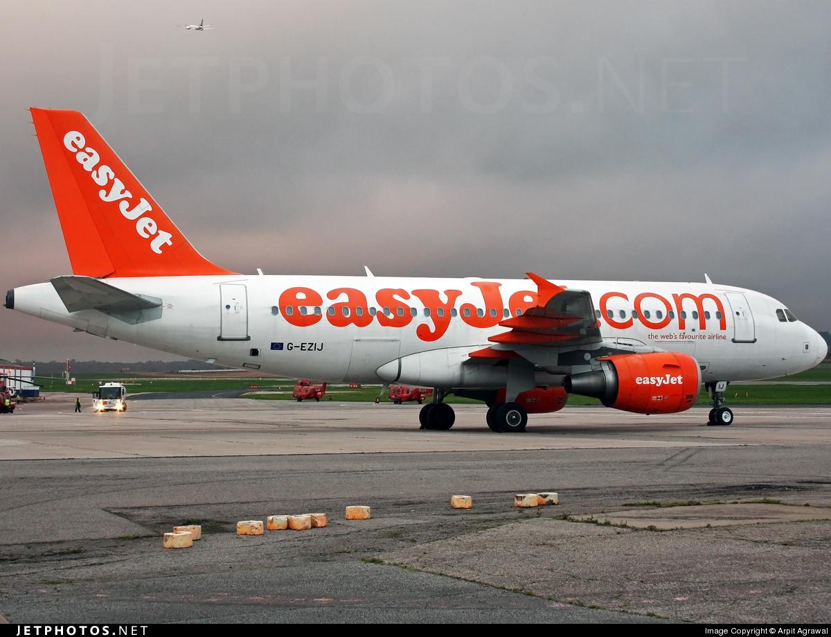 G-EZIJ - Airbus A319-111 - easyJet