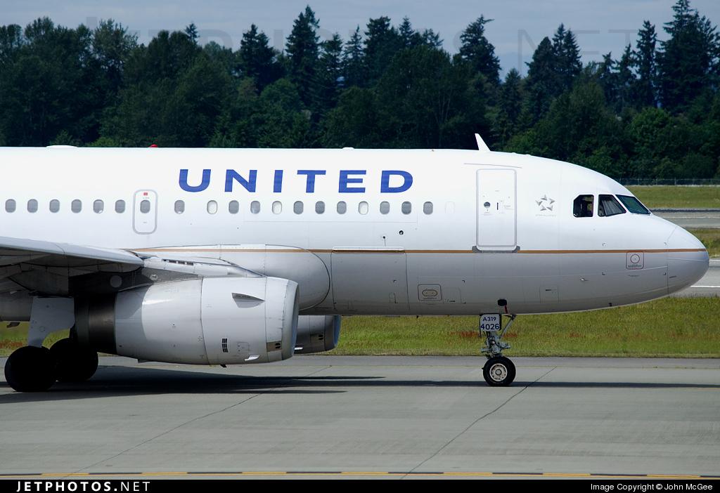 N826UA - Airbus A319-131 - United Airlines