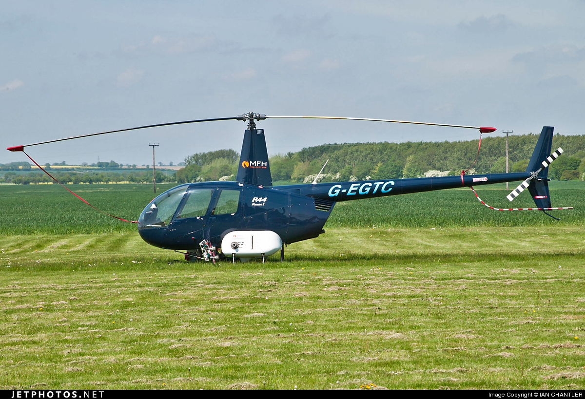G-EGTC - Robinson R44 Raven - Private
