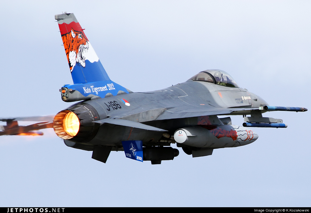 J-196 - General Dynamics F-16AM Fighting Falcon - Netherlands - Royal Air Force
