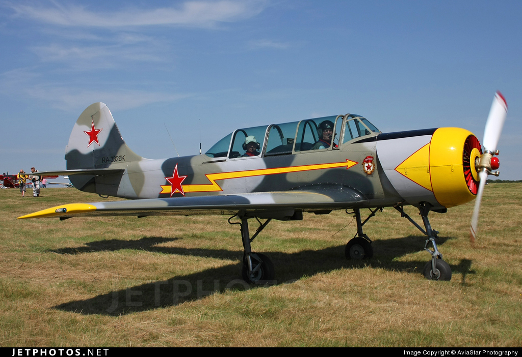 RA-3326K - Yakovlev Yak-52 - Private