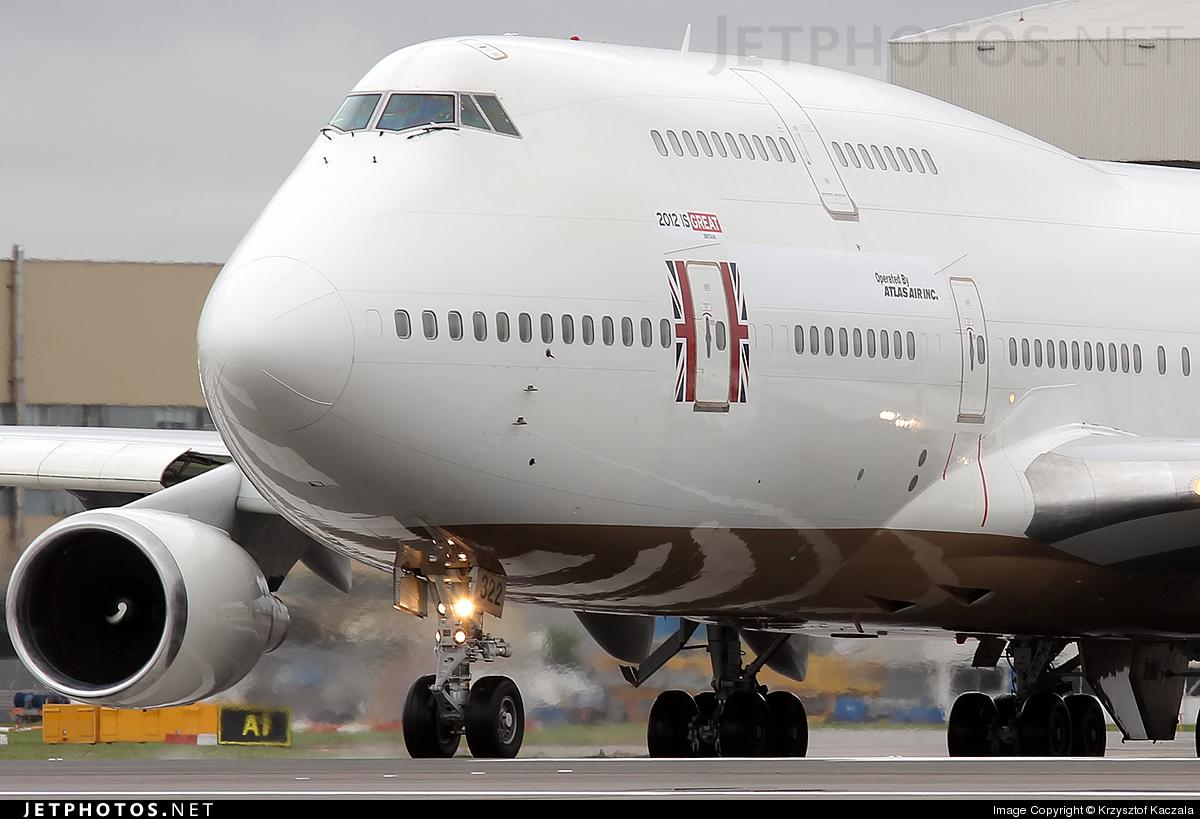N322SG - Boeing 747-481 - Atlas Air