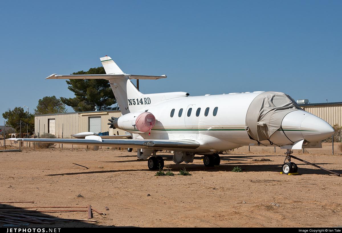 N514RD - Hawker Siddeley HS-125-600B - Private