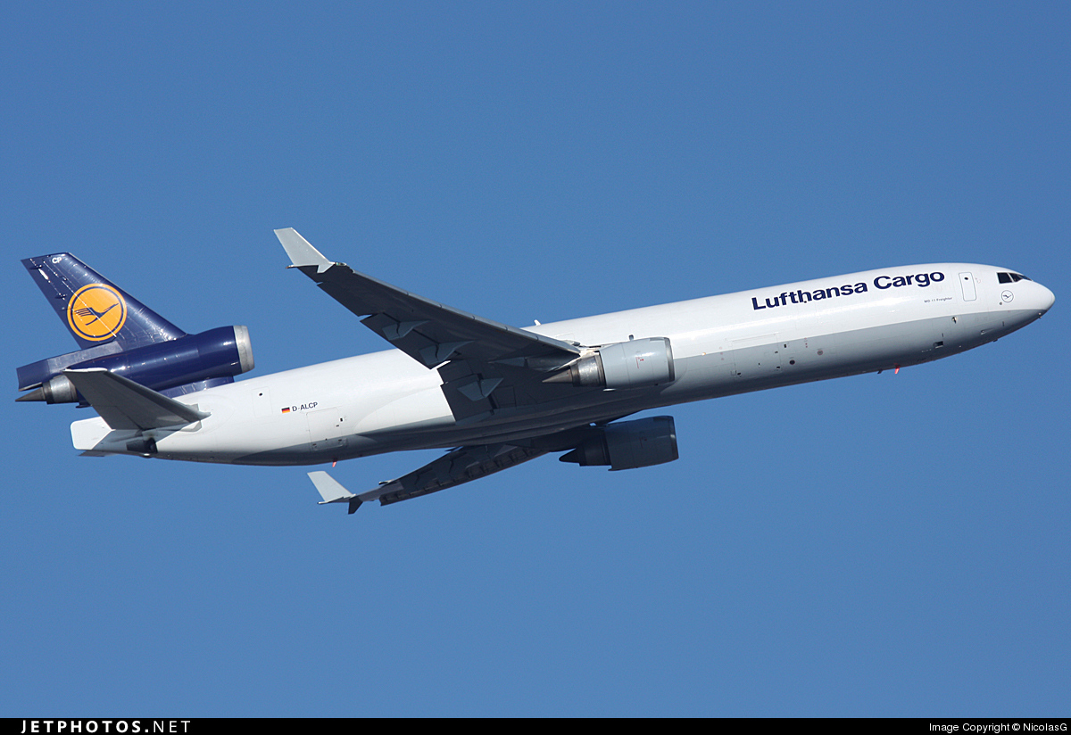 D-ALCP - McDonnell Douglas MD-11(F) - Lufthansa Cargo