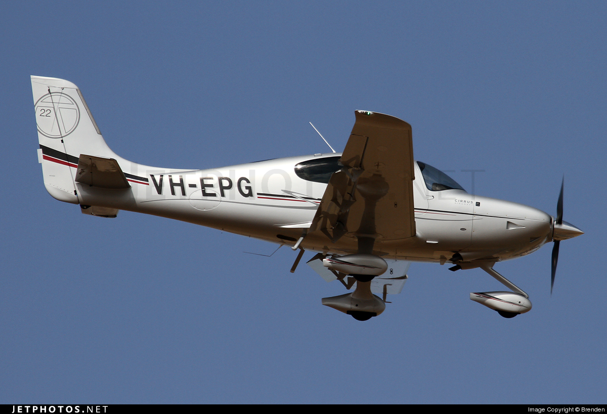 VH-EPG - Cirrus SR22T - Private